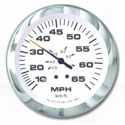 SeaStar Solutions Lido Series 65 MPH Speedometer Kit