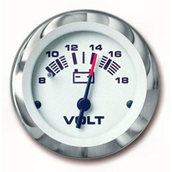 SeaStar Solutions Lido Series Voltmeter