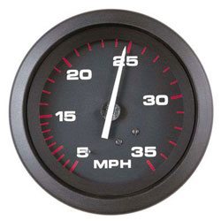 "SPEEDOMETER 65 MPH ECLIPSE SERIES 3/"" 68396P KIT INCLUDES PITOT AND TUBE TELEFLEX"
