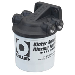 Moeller Water Separating Fuel Filter Assembly - No Bowl