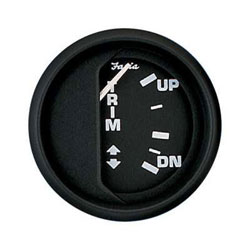 Faria Euro Black Trim Gauge