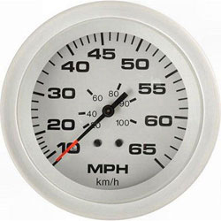 SeaStar Solutions Arctic Series 65 MPH Speedometer Kit