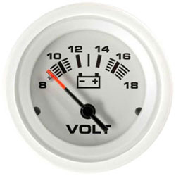 SeaStar Solutions Arctic Series Voltmeter