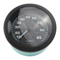 SeaStar Solutions Eclipse Series 65 MPH Speedometer Kit