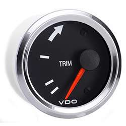 VDO Marine Vision Chrome Trim Gauge
