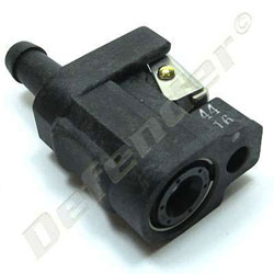 Yamaha OEM Fuel Line Connector - 8 mm