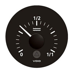 VDO Viewline Onyx Water Level Gauge