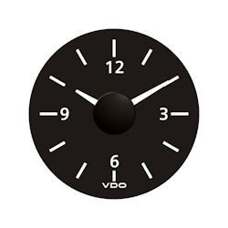 VDO Marine Viewline Onyx Dashboard Clock