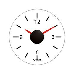 VDO Marine Viewline Ivory Dashboard Clock