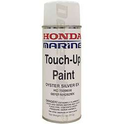 Honda Oyster Silver Metalic Gray Outboard Engine Touch-up Paint