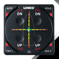 Lenco Aftermarket Digital Auto Glide Kit with NMEA GPS Antenna - Dual Actuator