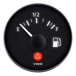 VDO Marine Viewline Onyx Fuel Level Gauge (A2C53412988-S)
