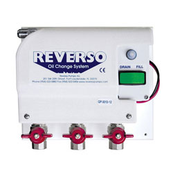 Reverso GP-3013 Oil Change System with Gear Pump - 24V