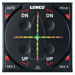 Lenco Digital Auto Glide Kit without GPS Antenna or Network - Dual Actuator