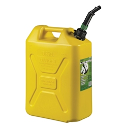 Scepter EPA / CARB Military Style Diesel Jerry Can - 5 Gallon