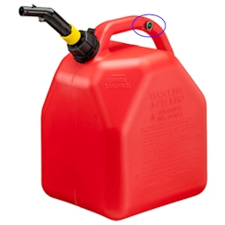 Scepter Hi Flow Vented Gas Can - 5 Gallon