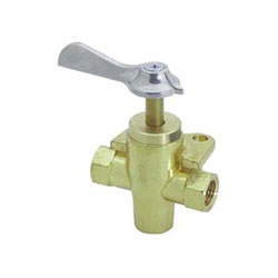 Whitecap Fuel Shut-Off Valve - 3-Way 1/4
