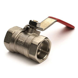 Whitecap Brass Ball Valve - 3/4
