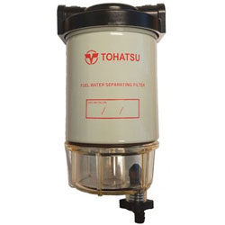 Tohatsu Fuel / Water Separator Assembly - Clear Bowl