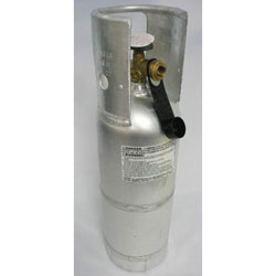 Trident 1410 LPG Propane Gas Cylinder - 6 lbs