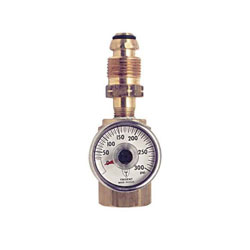 Trident Marine LPG Propane Gas Leak Test Adapter With Gauge