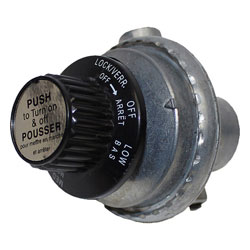 Dickinson Marine Propane Gas Control with Regulator