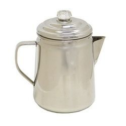 Coleman Stainless Steel 12-Cup Coffee Percolator