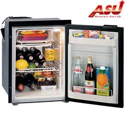 Isotherm Cruise CR 49 Stainless Steel (INOX) Refrigerator / Freezer with ASU