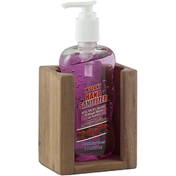 SeaTeak Soap Dispenser Bottle Holder Rack