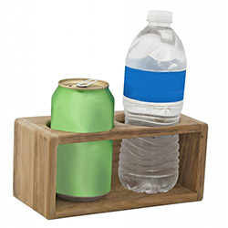 SeaTeak Two Drink Holder Rack