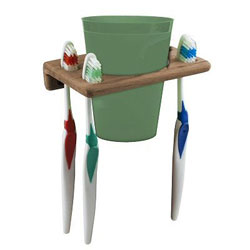 SeaTeak Tooth Brush Holder Rack