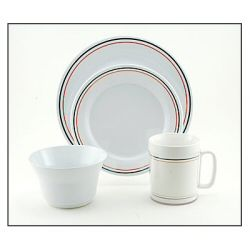 Galleyware Melamine Dinnerware Set - America