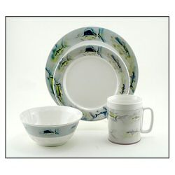 Galleyware Melamine Dinnerware Set - Great Oceans