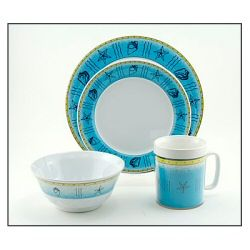 Galleyware Melamine Dinnerware Set - Off Shore