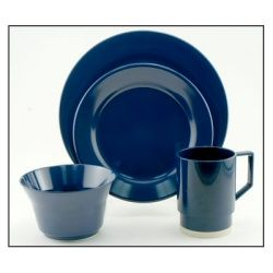 Galleyware Melamine Dinnerware Set - Solid Blue