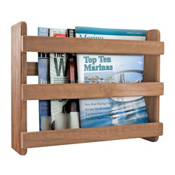 SeaTeak Magazine Rack