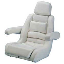Todd 5-Star Helm Seat - White