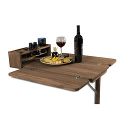 Seateak Folding Teak Cockpit Table Defender Marine
