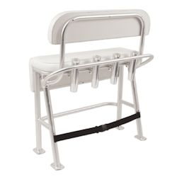 Taco Marine Neptune Iii Deluxe Leaning Post With Backrest