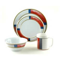 Galleyware Melamine Dinnerware Set - Life Preserver