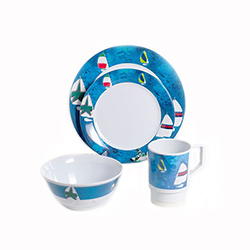 Galleyware Melamine Dinnerware Set - Spinnaker