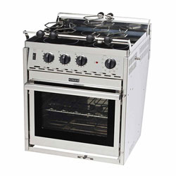 Electric cooking stoves Oven Force 10 3burner Gimbaled Electric Range Defender Marine Fixed Marine Electric Ovens Boat Stoves For Sale Boat Cooking