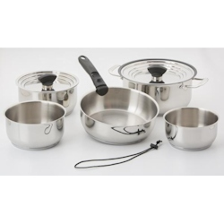Galleyware 14-Piece Nesting Induction Cookware Set