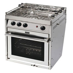 Force 10 3-Burner North American Standard Propane Gas Stove with Oven