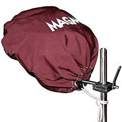 Magma Marine Kettle BBQ Grill Cover - Burgundy - Party Size (17