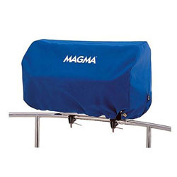 Magma Rectangular BBQ Grill Cover - Pacific Blue