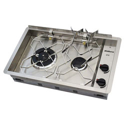 Dickinson Marine 2-Burner Propane Gas Drop-In Cooker