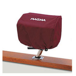 Magma Rectangular BBQ Grill Cover - Burgundy