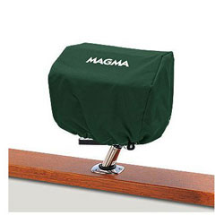 Magma Rectangular BBQ Grill Cover - Forest Green - TrailMate BBQ Grills