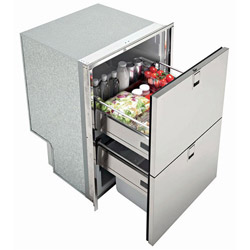 ... Isotherm Drawer DR 160 Light Stainless Steel (INOX) Refrigerator /  Freezer